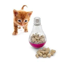 Pet Craft Supply Batty Bulb Treat Dispenser Slow Feeder Inte