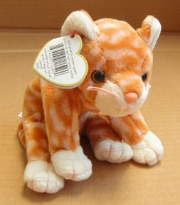 TY Beanie Babies Amber the Cat Stuffed Animal Plush Toy - 6
