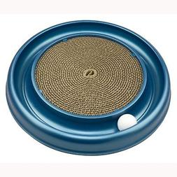Bergan Turbo Scratcher Cat Toy | Round Ball Track and Cardbo