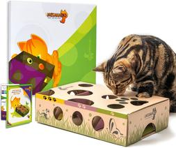 Cat Amazing – Best Cat Toy Ever! Interactive Treat Maze &