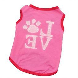 WEUIE Big Promotion! Puppy Clothes Pet Clothes Puppy Dog Cat