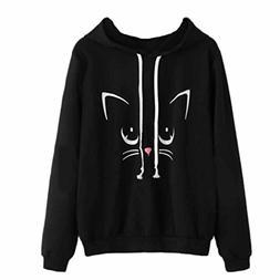 big sweatshirt clearance cute cat