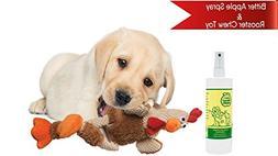 Bitter Apple Spray for Dogs 16oz + Dog Chew Toy  | Dog Licki
