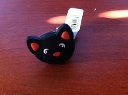 Black Cat Halloween Kids Rubber Ring