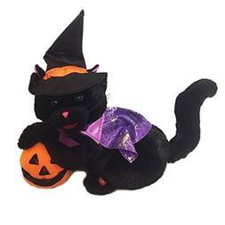 Avon Black Magic Woman Animated Singing Lighted Cat with Pum