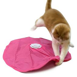BlackHole UnderCover Mouse Interactive Cat Toy, 2 in 1 Funct
