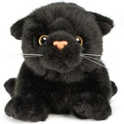 VIAHART Blarney The Black Cat | 7 Inch  Animal Plush | by Ti