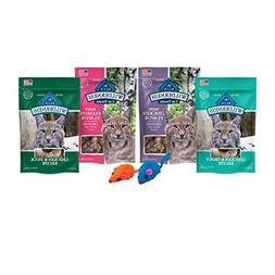 Wilderness Blue Buffalo Cat Treats-Grain Free Variety Pack C