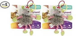 SmartyKat Bouncy Mouse Bungee Cat Toy  - Pack of 2