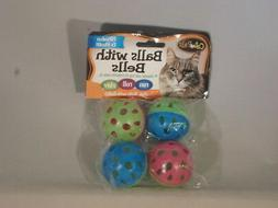 bow wow cat balls with bells toys