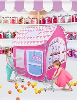 SUGAR Q Breathable Extra Large Portable Folding Pop-Up Candy