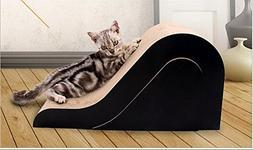 Zero Cardboard Cat Scratch Chaser Scratcher Plus Toy Combine