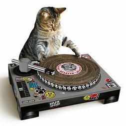 Cardboard Cat Scratch DJ Deck Scratching Pad | Suck UK