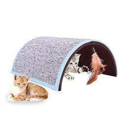WIDEN ELECTRIC Carpet Arch Cat Scratcher Board Pet Tunnel To