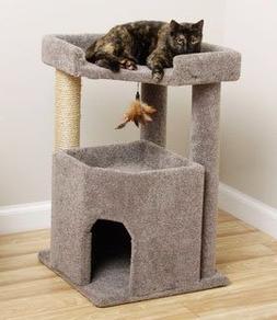 Carpet Cat Furniture for Large Cats 33 inch Big Condo, Spaci