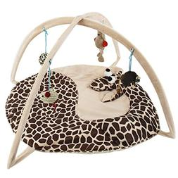 Totoo Cat Activity Center with Hanging Toy Balls, Mice & Mor