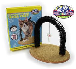 Matty's Pet Stop Cat Arch Self-Grooming and Massage Station