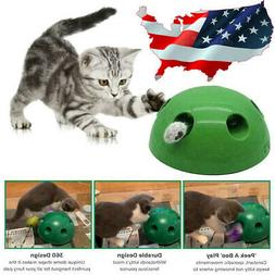 Cat Automatic Pop-N' Play Interactive Motion Mouse Tease Ele