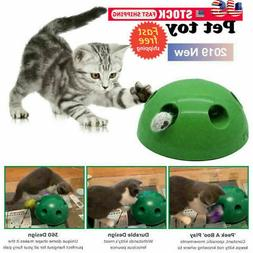 Cat Automatic Pop- N' Play Interactive Motion Mouse Tease El
