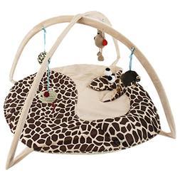 Legendog Cat Bed, Foldable Animal Shaped Bed Exercise Activi