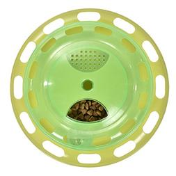 Foerteng Cat Bowl Fun Interactive Feeder Slow Feed Cat Toy C