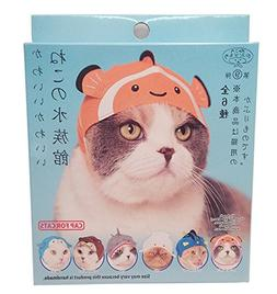 Kitan Club Aquarium Cat Cap - Pet Hat Blind Box Includes 1 o