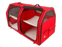 One for Pets Double Cat Show House / Portable Dog Kennel / S