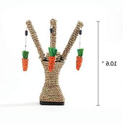 Spring Fever Cat Carrot Tree Molar Hanging Chew Toy Ultimate