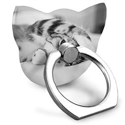 Cat Cat Cell Phone Finger Holder 360° Rotation Ring Stand
