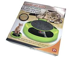 MEW Cat Catches Mice Interactive Toys,With A Running Mice An