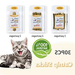 Cat Catnip Natural Matatabi Chew Sticks Teeth Grinding Chew