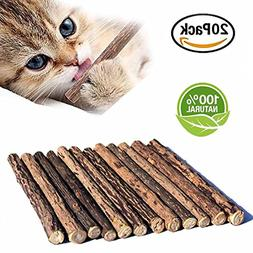 Cat Catnip Sticks, Cat Catnip Natural Matatabi Chew Sticks,