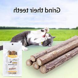 Cat Catnip Toy Natural Cats Chew Molar Sticks Pet Kitten Tee