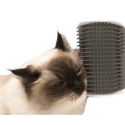 Cat Catnip Toy Cat Corner Groomer Massage Brush for Cats wit