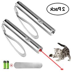 ONSON Cat Chaser Toys - Cats Teaser Wand - 3 in 1 Multi Func