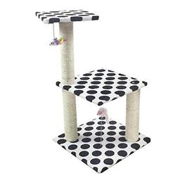 Ludage Cat Climbing Frame Pet cat Toy Grab Board Grab Post L