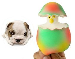 BleuMoo Cat Dog Puppy Training Chews Sound Squeaky Pet Toy L