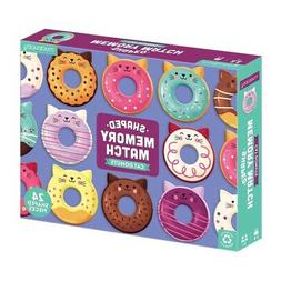 Cat Donuts Shaped Memory Match Game by Mudpuppy