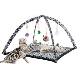 Cat Kitten Activity Play Mat Napping Hanging Balls Toys Inte