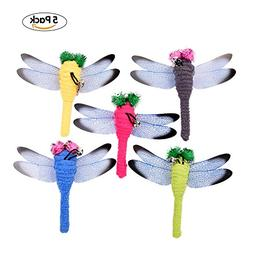 Yunt Cat Kitten Toys with Bell Interactive Funny Toys 5pcs D