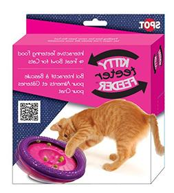 Ethical Cat-Kitty Teeter Feeder- Purple 7 2926