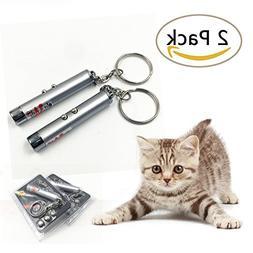 MAIYUAN 2 Pack Cat Laser Pointer High Power Chaser Toys Cat