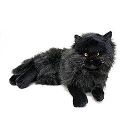 Bocchetta Plush Toys Cat Lying Soft Plush Toy - Onyx Medium