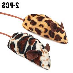 Legendog Cat Mouse Toy, 2PCS Mouse Plush Toy Interactive Car