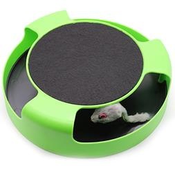 TooFun Cat Mouse Toy Kittens- Cats - Catch The Mouse Motion