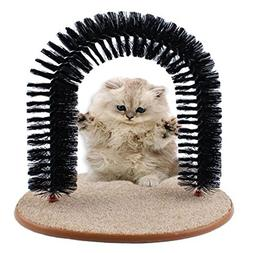 Cat Rubbed Wool Implement Scratching Device Self-Groomer and