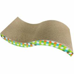 Lambow Evelots Cat Scratch Board, Incline Scratcher Kitty To