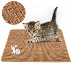 Cat Scratch Kitten Scratching Kitty Scratcher Sisal Mat Pad