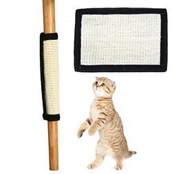 Homedeco Cat Scratch Mat Cat Scratcher Kitten Natural Sisal