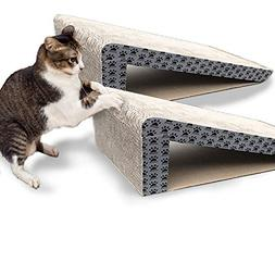 iPrimio Cat Scratch Ramps  - Foldable for Travel and Easy St